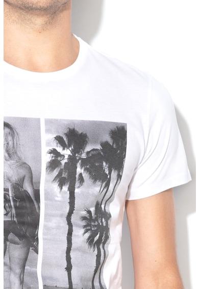 BLEND Tricou cu imprimeu foto Barbati