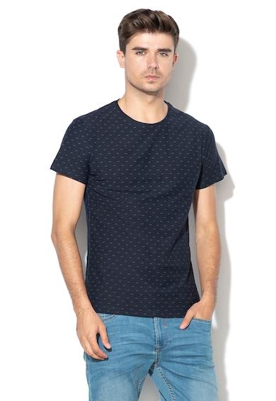 BLEND Tricou slim fit, cu imprimeu grafic Barbati