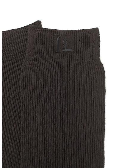Trussardi Jeans Set de fular, manusi si caciula din amestec de lana, 3 piese Barbati