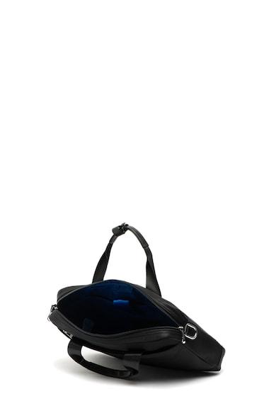 Trussardi Jeans Geanta pentru laptop cu bareta de umar Barbati