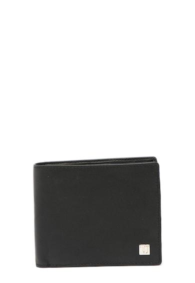 Trussardi Jeans Portofel pliabil de piele cu detaliu logo discret Barbati