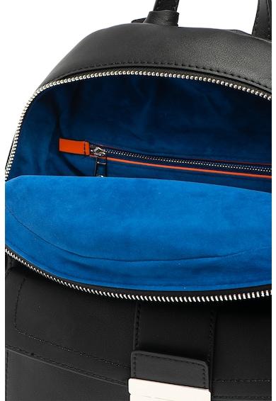 Trussardi Jeans Rucsac de piele ecologica, cu logo metalic Femei