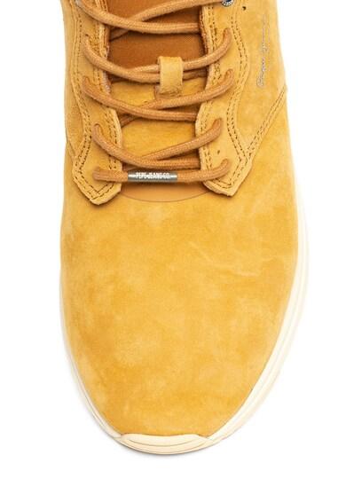 Pepe Jeans London Pantofi sport de piele intoarsa si material textil Jayker Barbati