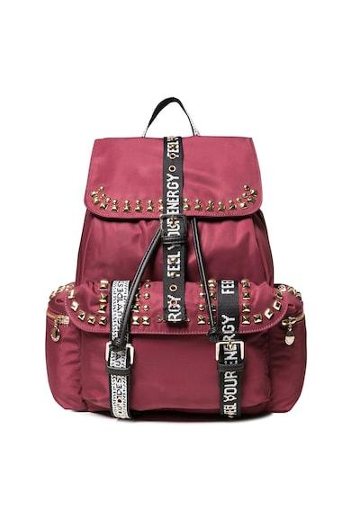 DESIGUAL Húzózsinóros hátizsák szegecsekkel női