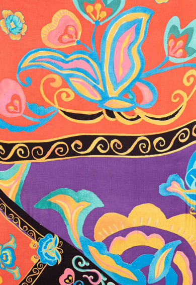 DESIGUAL Esarfa cu imprimeu floral Femei