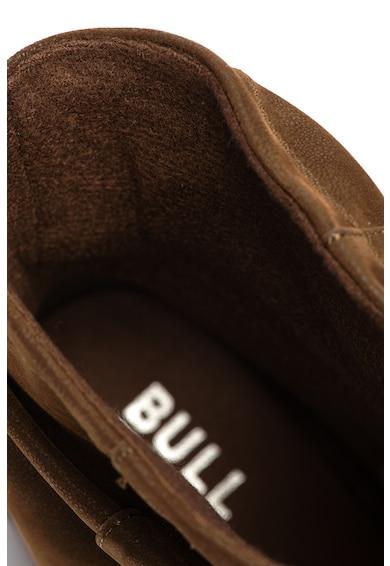 Bullboxer Cizme medii de piele nabuc ecologica Femei