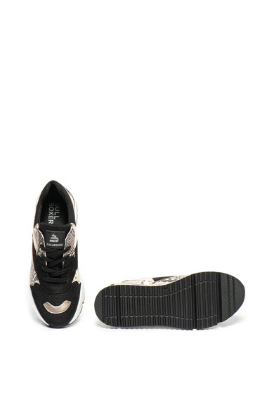 Bullboxer Pantofi sport wedge cu garnituri de piele intoarsa Femei