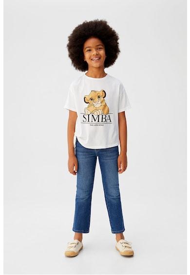 Mango Tricou cu imprimeu Simba Fete