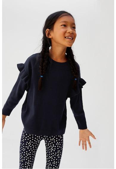 Mango Pulover din tricot fin cu detalii cu volane Angie Fete