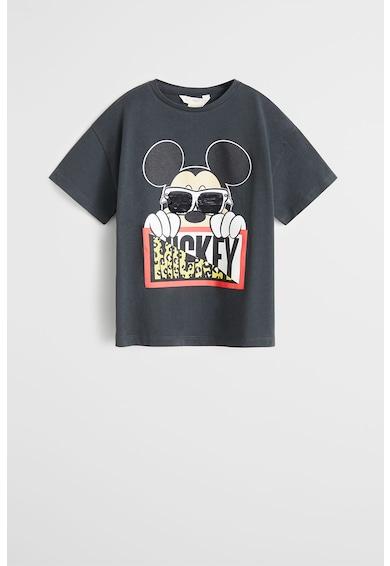 Mango Tricou cu aplicatie din paiete reversibile Mickey Mouse Fete