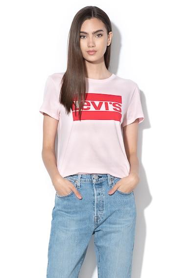 Levi's Памучна тениска с лого Жени