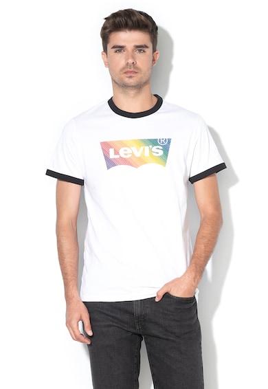 Levi's Tricou cu imprimeu si terminatii contrastante Barbati