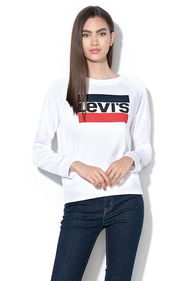 Levi's Bluza sport cu imprimeu logo si maneci raglan AA Femei