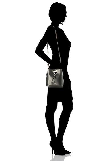 Karl Lagerfeld Geanta bucket de piele Ikonik Femei