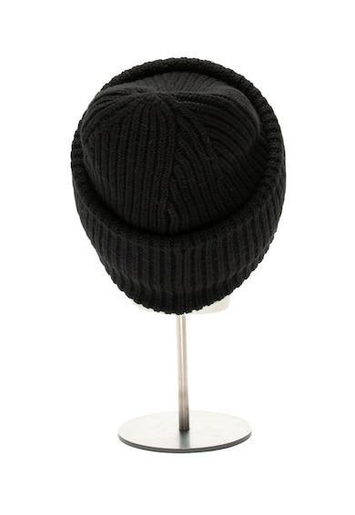 Karl Lagerfeld Caciula elastica din amestec de lana Merinos Rue St Guillaume Femei