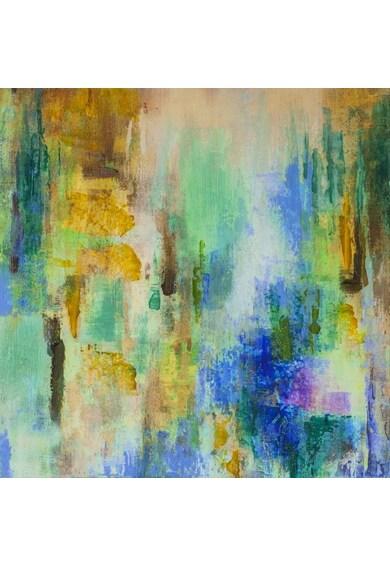 Mendola Art Tablou pictat manual Poetry 50x50cm Femei
