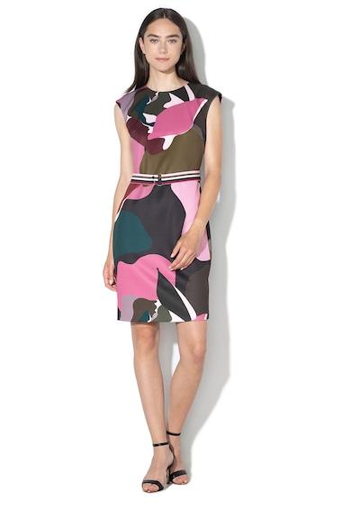 Ted Baker Прилепнала рокля Ginina с абстрактен десен Жени