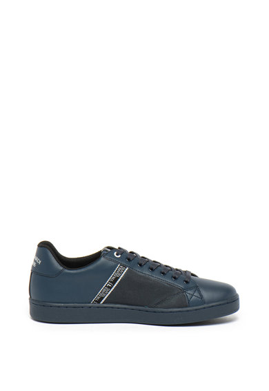 Trussardi Jeans Pantofi sport de piele ecologica cu detaliu logo Barbati