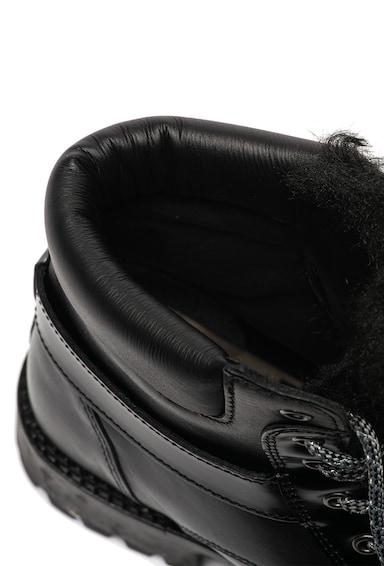 Trussardi Jeans Rövid szárú bőrbakancs csatos pánttal női
