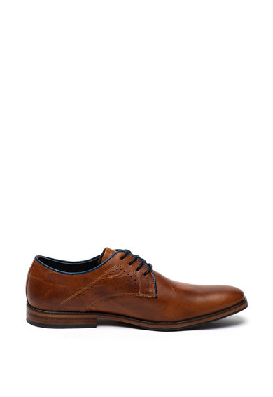 Bullboxer Pantofi derby de piele, cu perforatii Barbati
