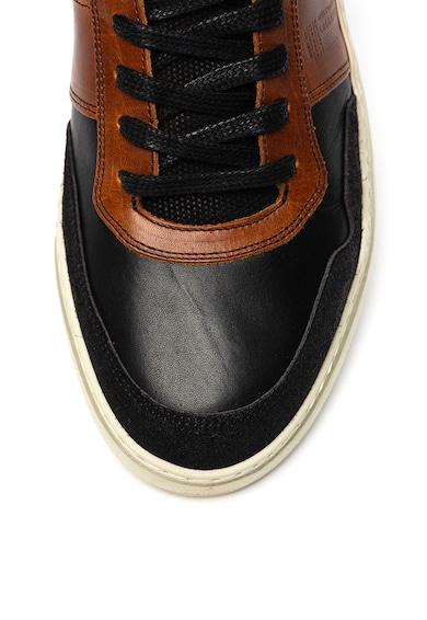Bullboxer Pantofi de piele, cu insertii de piele intoarsa Barbati