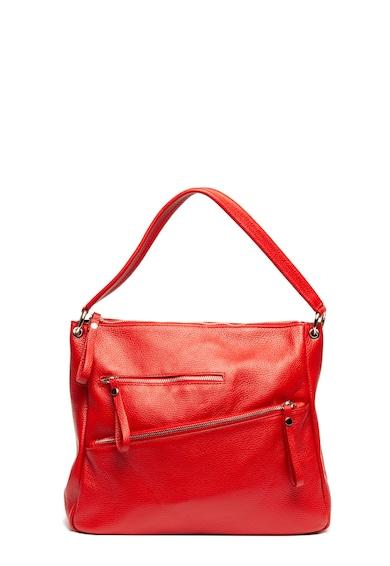 Antonia Moretti Кожена чанта с джобове с цип Жени
