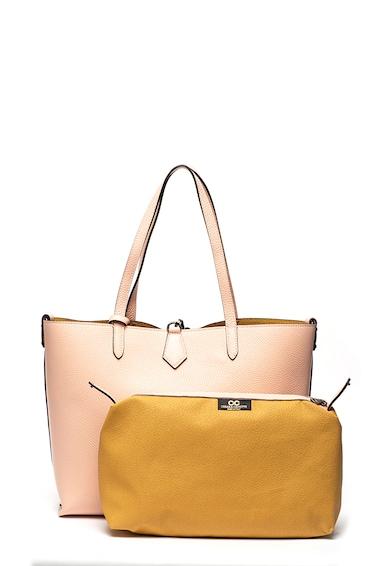 Chiara Canotti Кожена чанта с отделящ се вътрешен несесер Жени