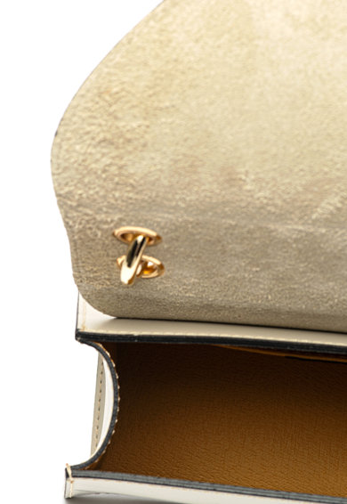 Chiara Canotti Кожена чанта с отделяща се презрамка Жени