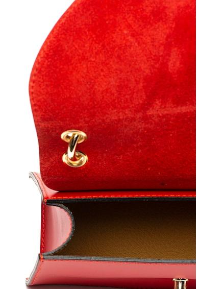 Chiara Canotti Geanta de mana din piele, cu bareta detasabila din lant Femei