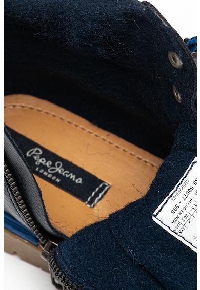 Pepe Jeans London Ghete de piele Combat Nylon Baieti