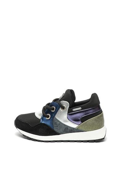Pepe Jeans London Спортни обувки Dean с кожени елементи Жени