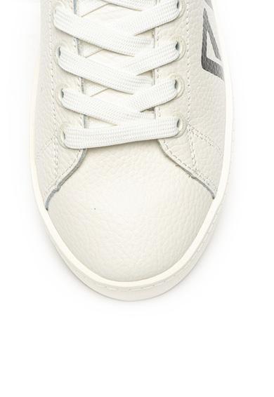 Pepe Jeans London Pantofi sport de piele cu imprimeu logo Brixton Archieve Femei
