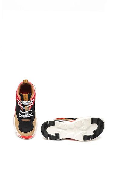 Pepe Jeans London Спортни обувки Sinyu с велур и мрежа Жени