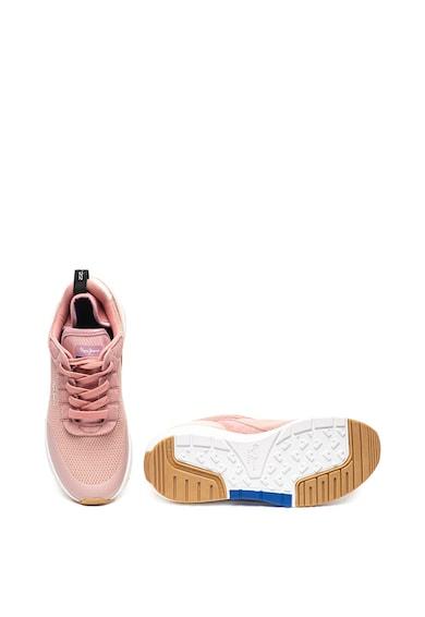Pepe Jeans London Pantofi sport cu garnituri de piele intoarsa No 22 Femei