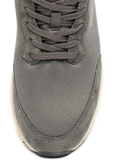Pepe Jeans London Pantofi sport cu insertii din piele nabuc Jayker Barbati