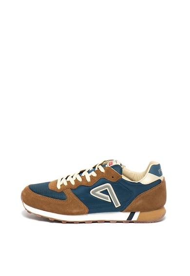 Pepe Jeans London Pantofi sport cu logo reflectorizant Klein Archieve Barbati