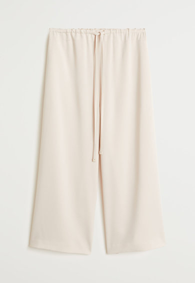 Mango Пола-панталон Easy с връзка Жени
