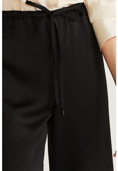 Mango Pantaloni culotte cu snur Easy Femei