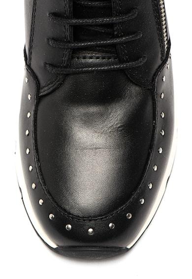 Pikolinos Pantofi sport de piele cu insertii de nituri Mundaka Femei