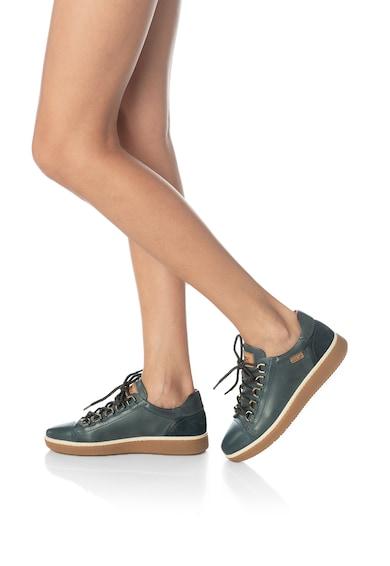 Pikolinos Pantofi sport de piele cu garnitura de piele intoarsa Baeza Femei