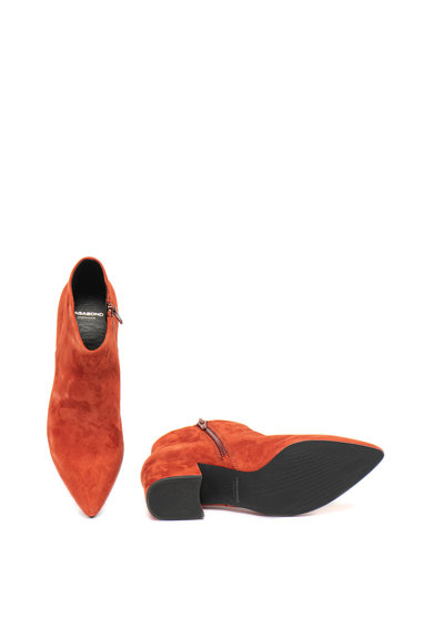 Vagabond Shoemakers Botine din piele intoarsa cu toc masiv Mya Femei