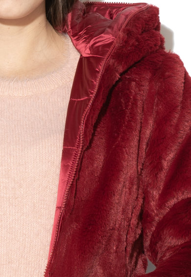 Save The Duck Geaca din blana sintetica cu model reversibil Femei