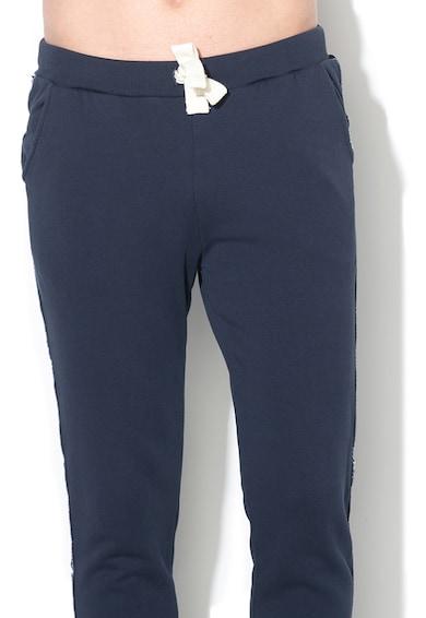 North Sails Pantaloni jogger cu detalii laterale contrastante Barbati
