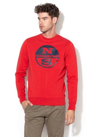 North Sails Bluza sport cu logo cauciucat Barbati