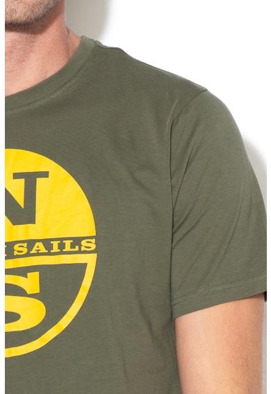 North Sails Tricou regular fit cu imprimeu logo Barbati