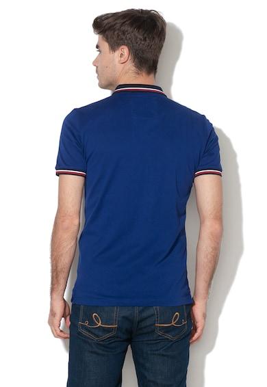 SUPERDRY Tricou polo din material pique cu logo cauciucat Lite Barbati