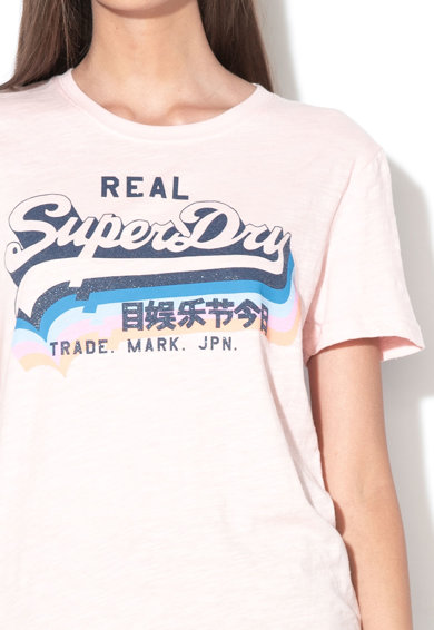 SUPERDRY Tricou cu imprimeu logo Vintage 1 Femei
