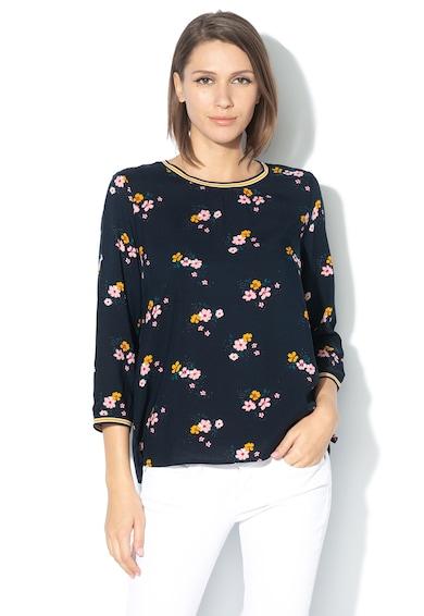 Tom Tailor Bluza cu model floral si maneci 3/4 Femei