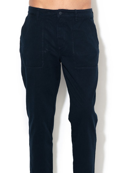 Tom Tailor Pantaloni chino cu talie medie si croiala relaxed fit Barbati