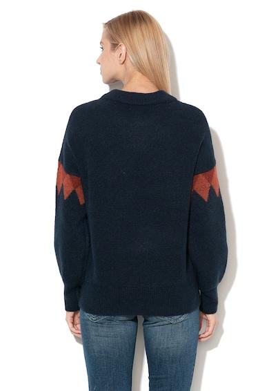 Tom Tailor Pulover din amestec de lana, cu imprimeu Femei